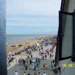 Crowds on beach over 25000 watched the airshow