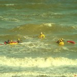 2008 lifeguard training exercise in surf