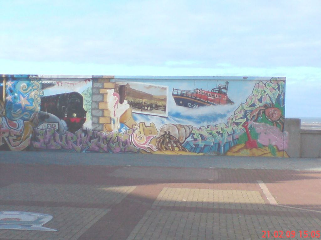 Miscellaneous rhyl rnli lifeboat for Church mural restoration