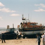 "12-24 now back on carriage,returning as ""Rhyl Lifeboat"" 12-24 back on station. First exercise with"