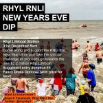 Rhyl Festive dip. See facebook page for details