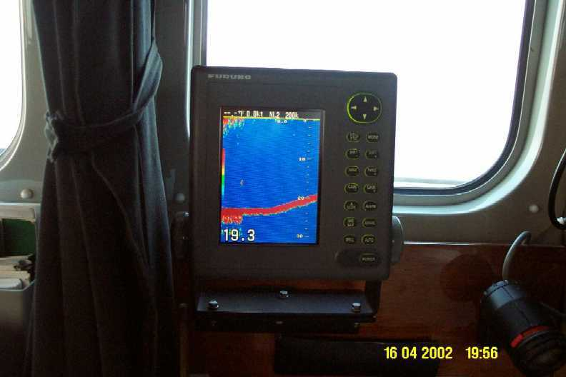The colour depth sounder