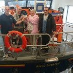 Birthday money donated to Rhyl RNLI Shannon lifeboat appeal