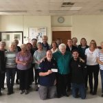 Prestatyn Dance School gives generous donation to the Rhyl RNLI new Shannon lifeboat appeal