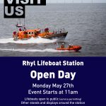 Rhyl RNLI events page updated with 2019 events details and links