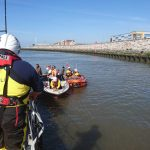 Latest service for both Rhyl's Lifeboats
