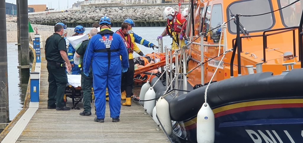 More rescues for Rhyl RNLI