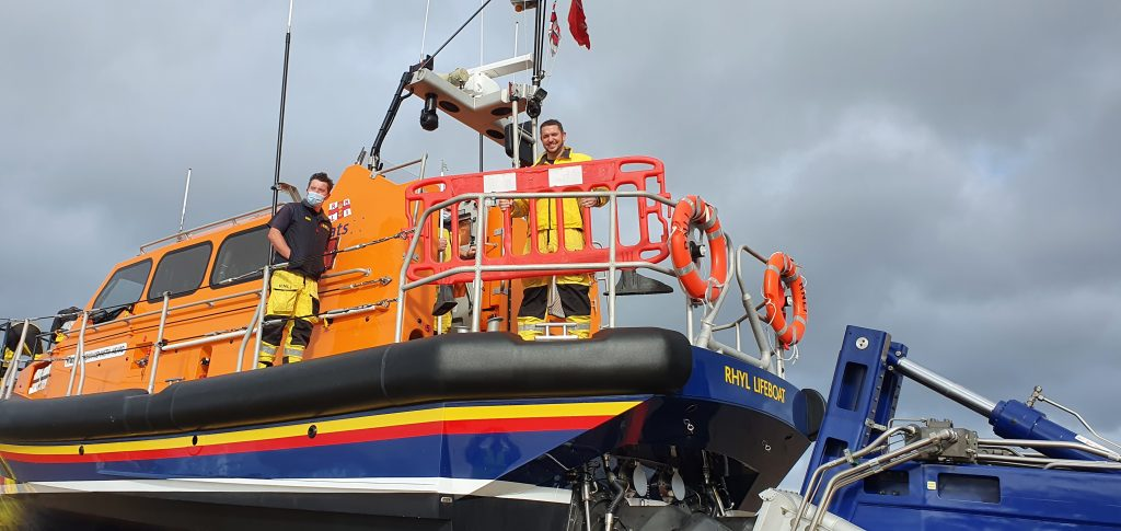 First shout for Deputy Coxswain Vinny