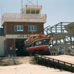 "12-25 ""Bingo Lifeline"" existing boathouse to launch to take over at Llandudno."