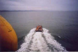 January 27th 2002. Exercise with SeaKing helicopter from 22 squadron,RAF Valley,Anglesey.